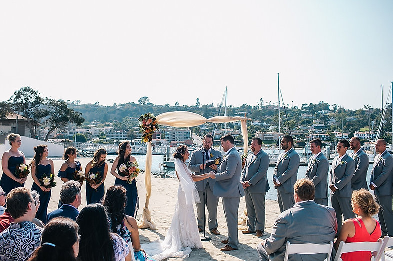 Kona Kai Resort Wedding Beach Venue San Diego