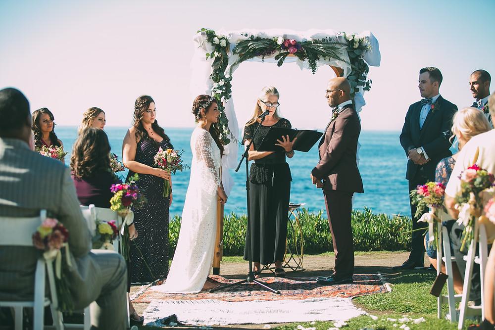 Cuvier Park, La Jolla Wedding