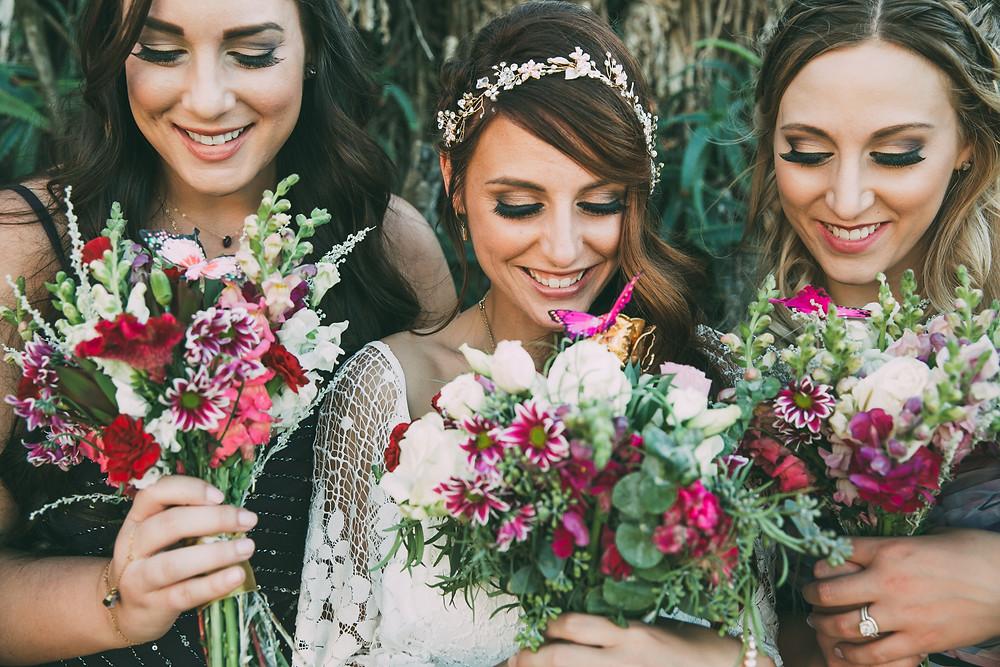 Wedding bouquets bridesmaids
