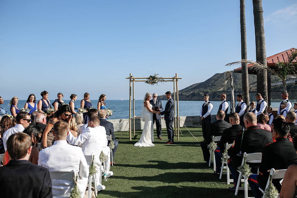 Oceanview Room Wedding