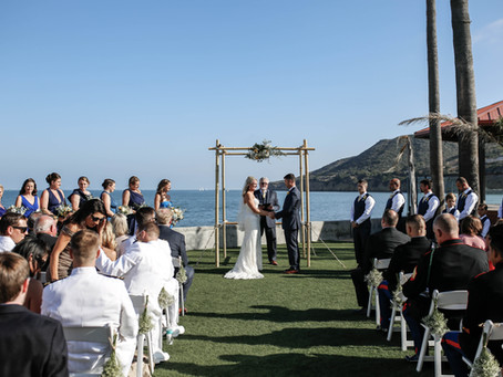 Oceanview Room Wedding at Point Loma Naval Base