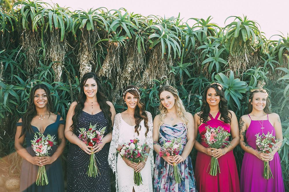 bride tribe bridal brigade