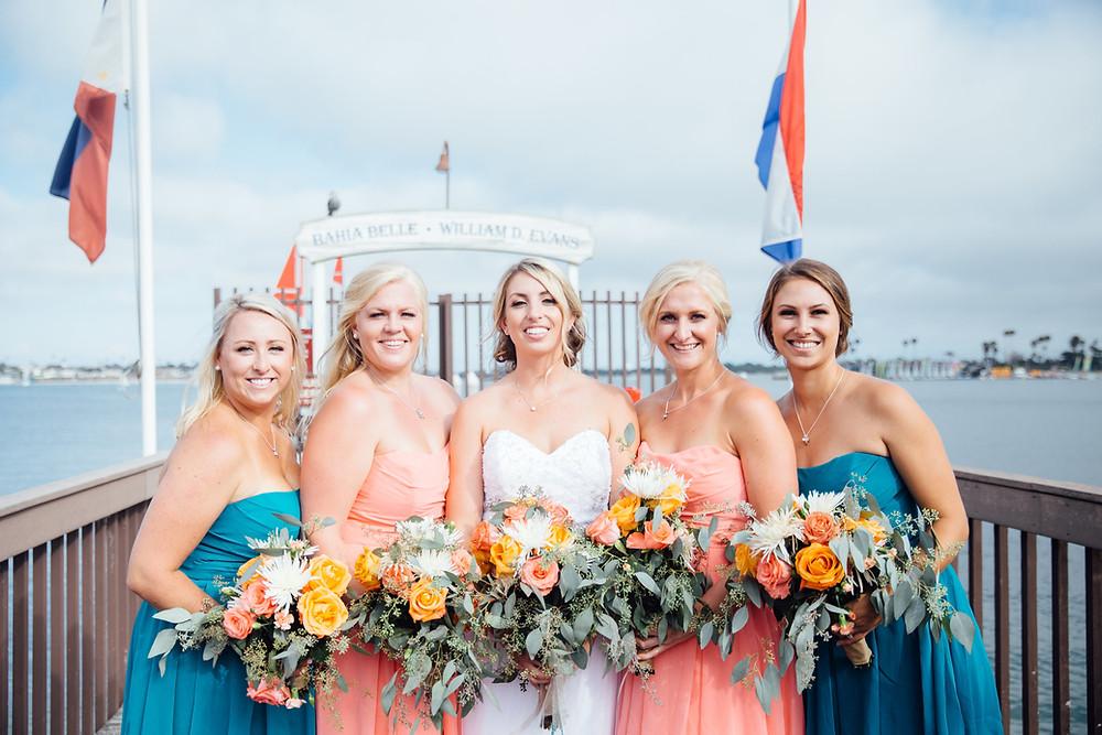 San Diego Wedding at Catamaran Resort