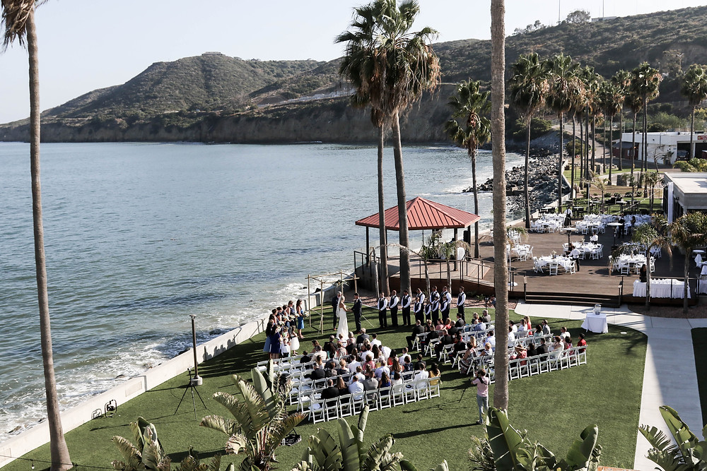 Point Loma Oceanview Room Wedding