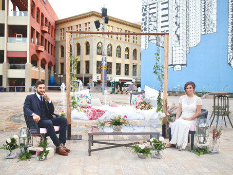 Horton Plaza Park Wedding in Downtown San Diego