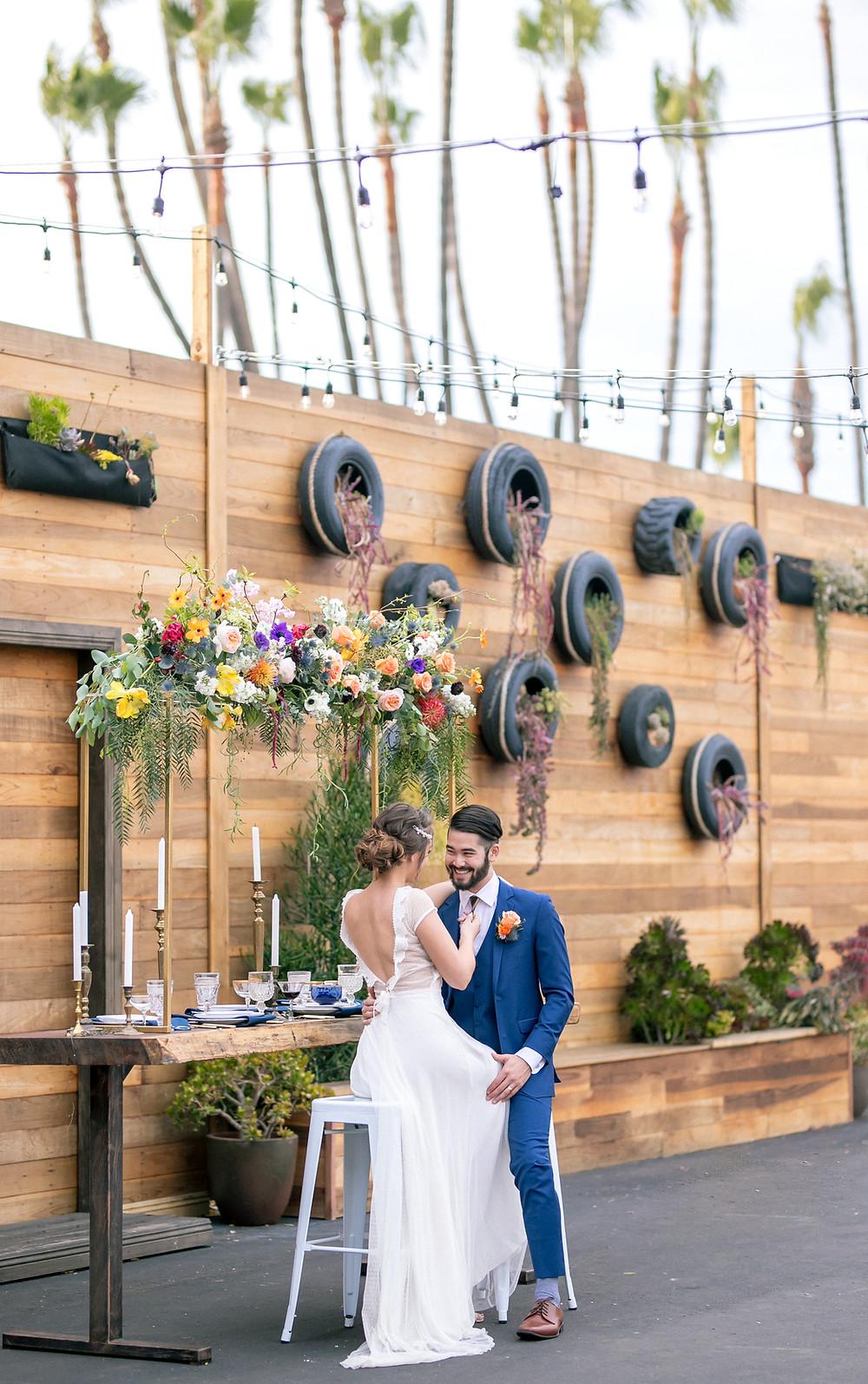 Lot 8 wedding planner san diego
