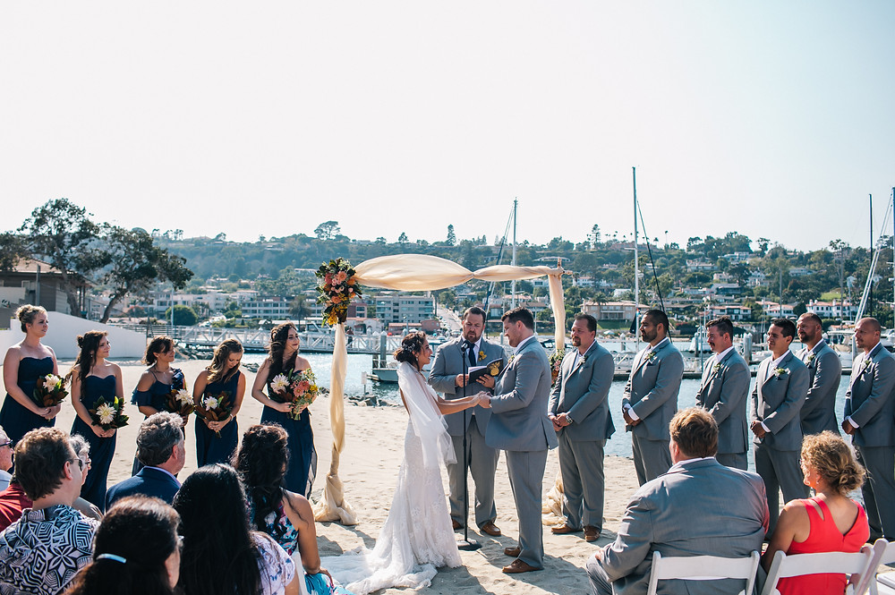 Kona Kai Beach Wedding San Diego