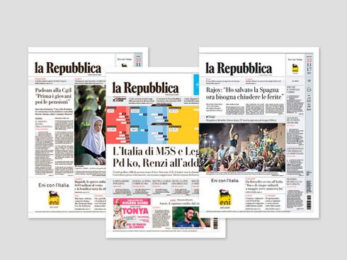 La Repubblica Redesign 2017
