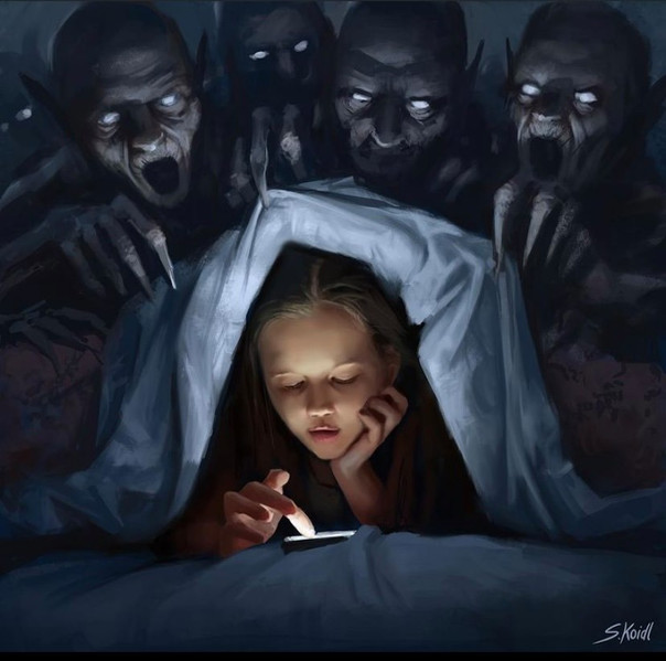 ' Creepy Painting 13 '