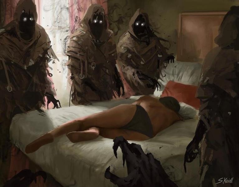 ' Creepy Painting 14 '