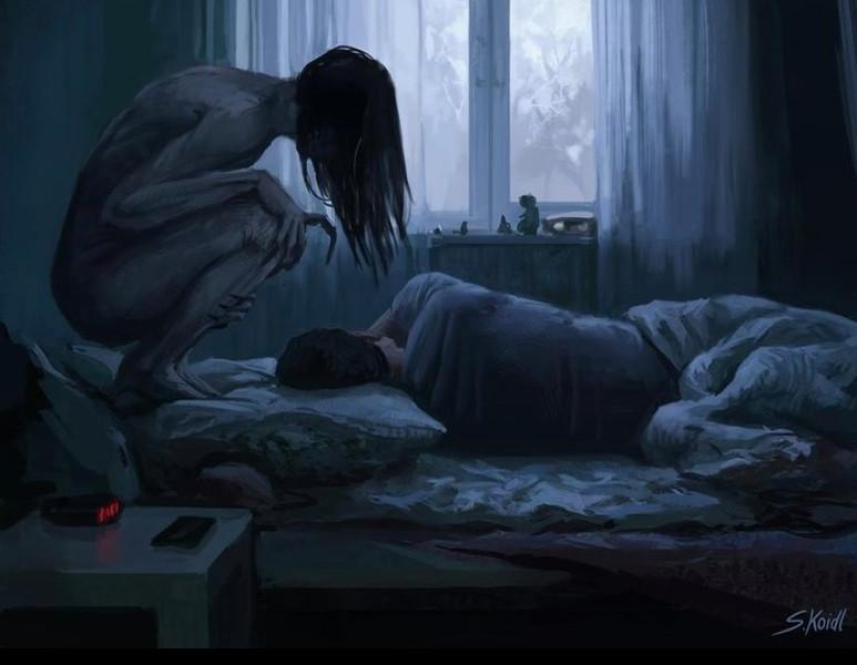 ' Creepy Painting 24 '
