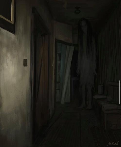 ' Creepy Painting 55 '