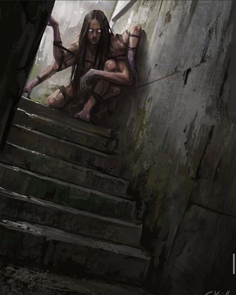 ' Creepy Painting 40 '