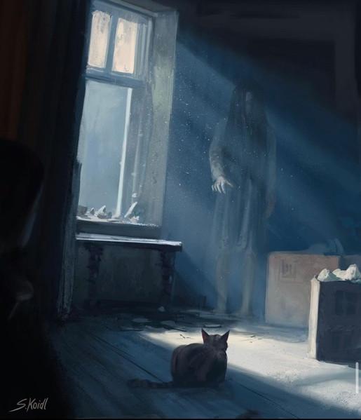 ' Creepy Painting 39 '