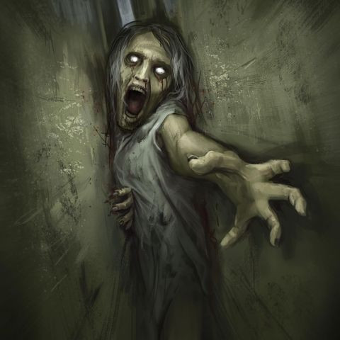 ' Creepy Painting 54 '
