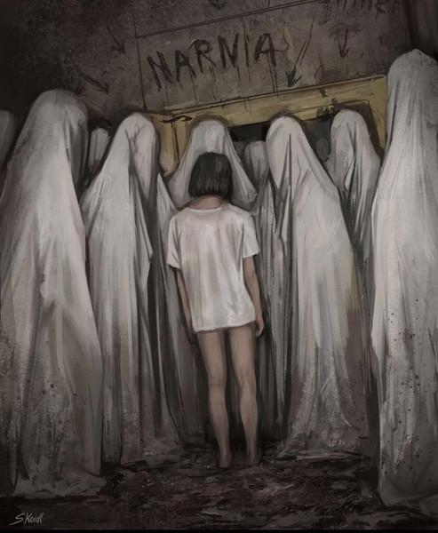' Creepy Painting 26 '