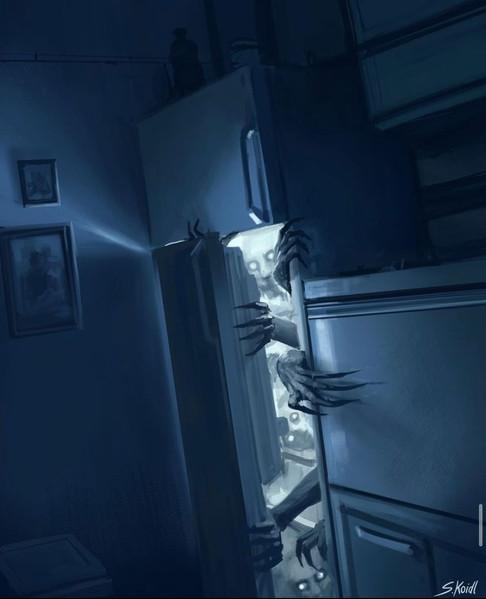 ' Creepy Painting 25 '
