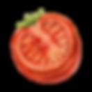 Metade de um tomate