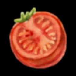 Een halve Tomaat