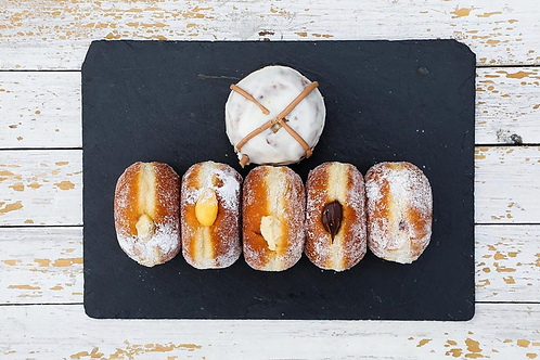Pippin Doughnuts - buy 5 get 1 free, (Collection @ Oxshed)