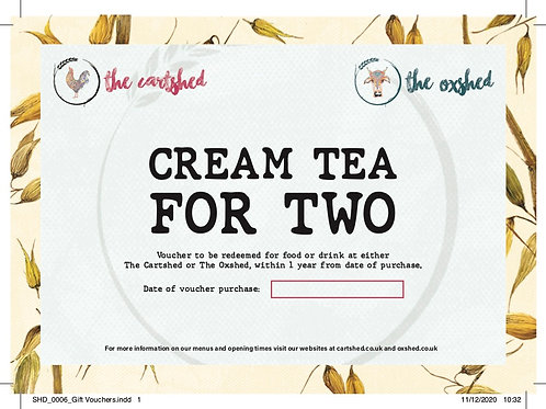 Cream for Two Voucher