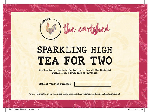 Sparkling High Tea for Two Voucher