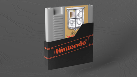 Found a cad model and convert it in Moi then texted it in 3ds Max, and I modeled the plastic box myself for the game.