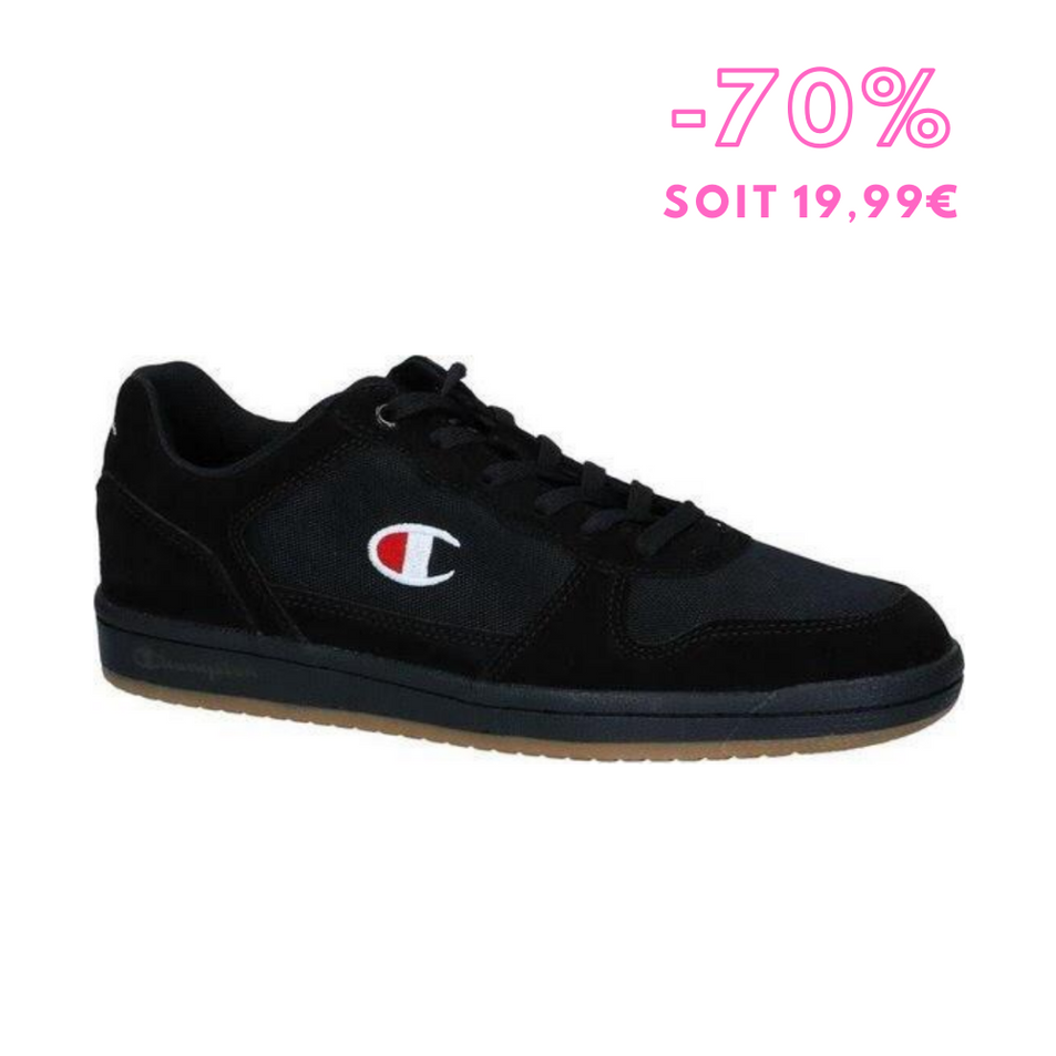 Champion - Sneakers homme Chicago Suede