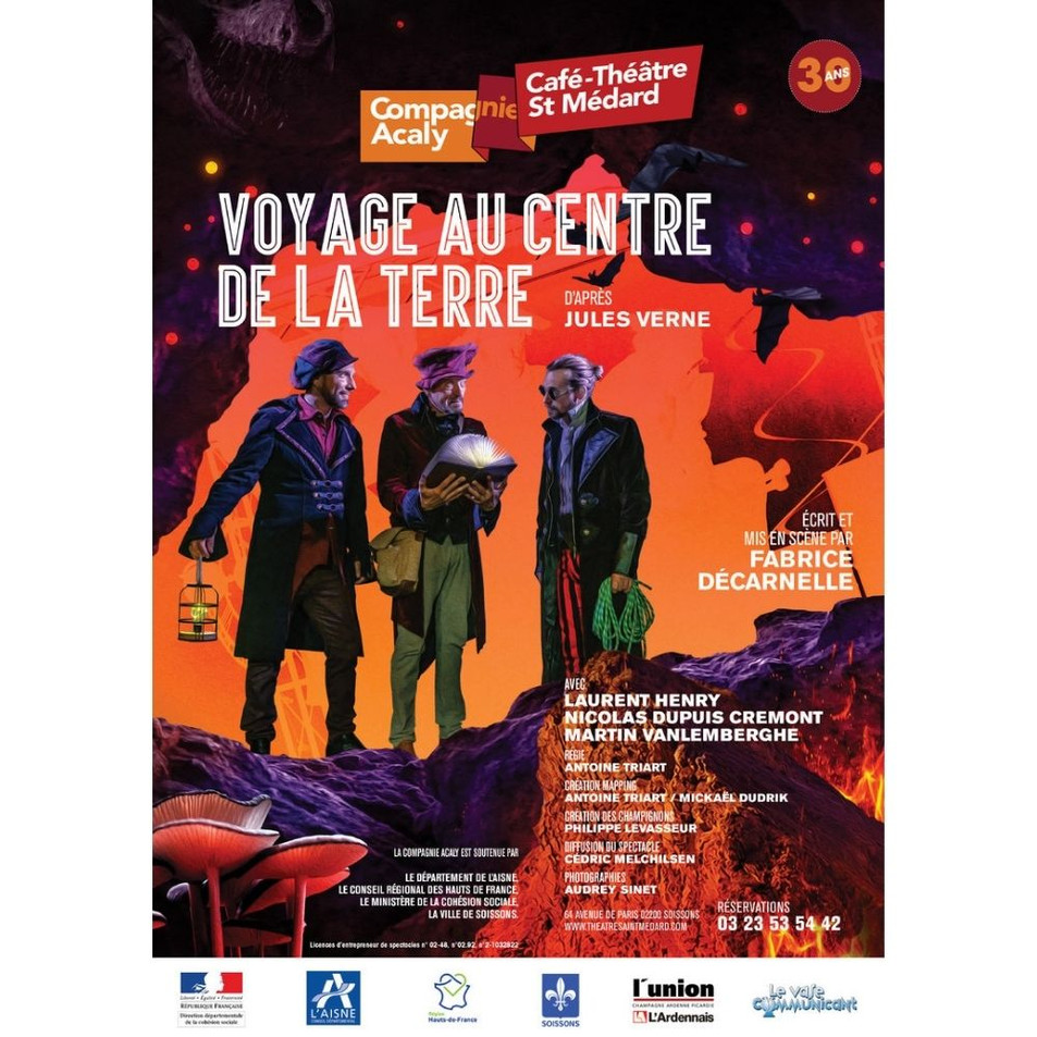 Acaly - Voyage au centre de la terre