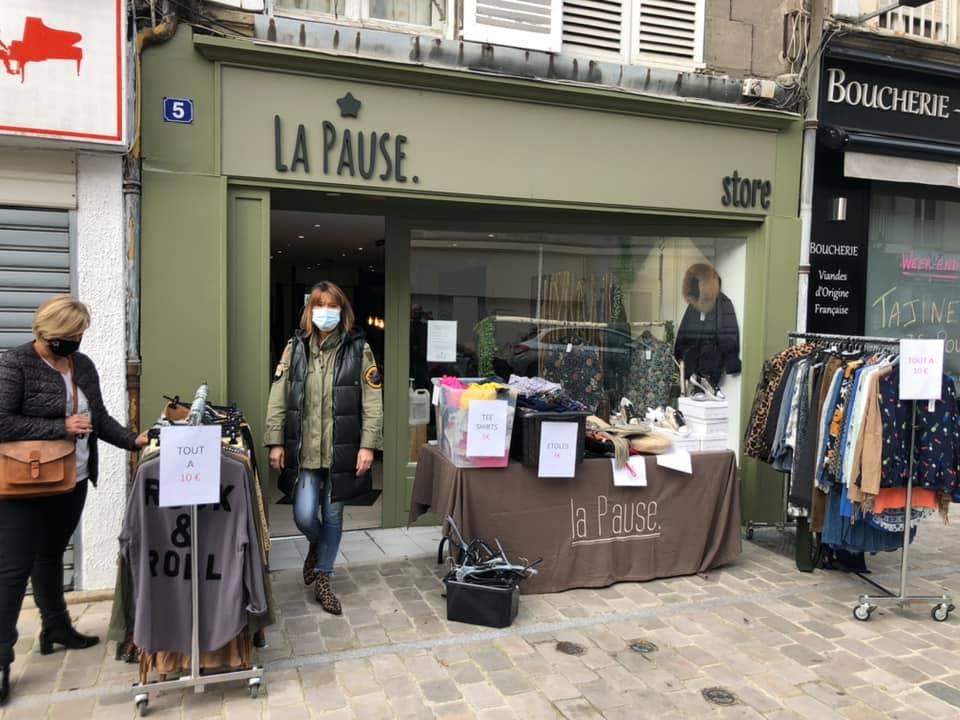 La pause - Vêtements et accessoires