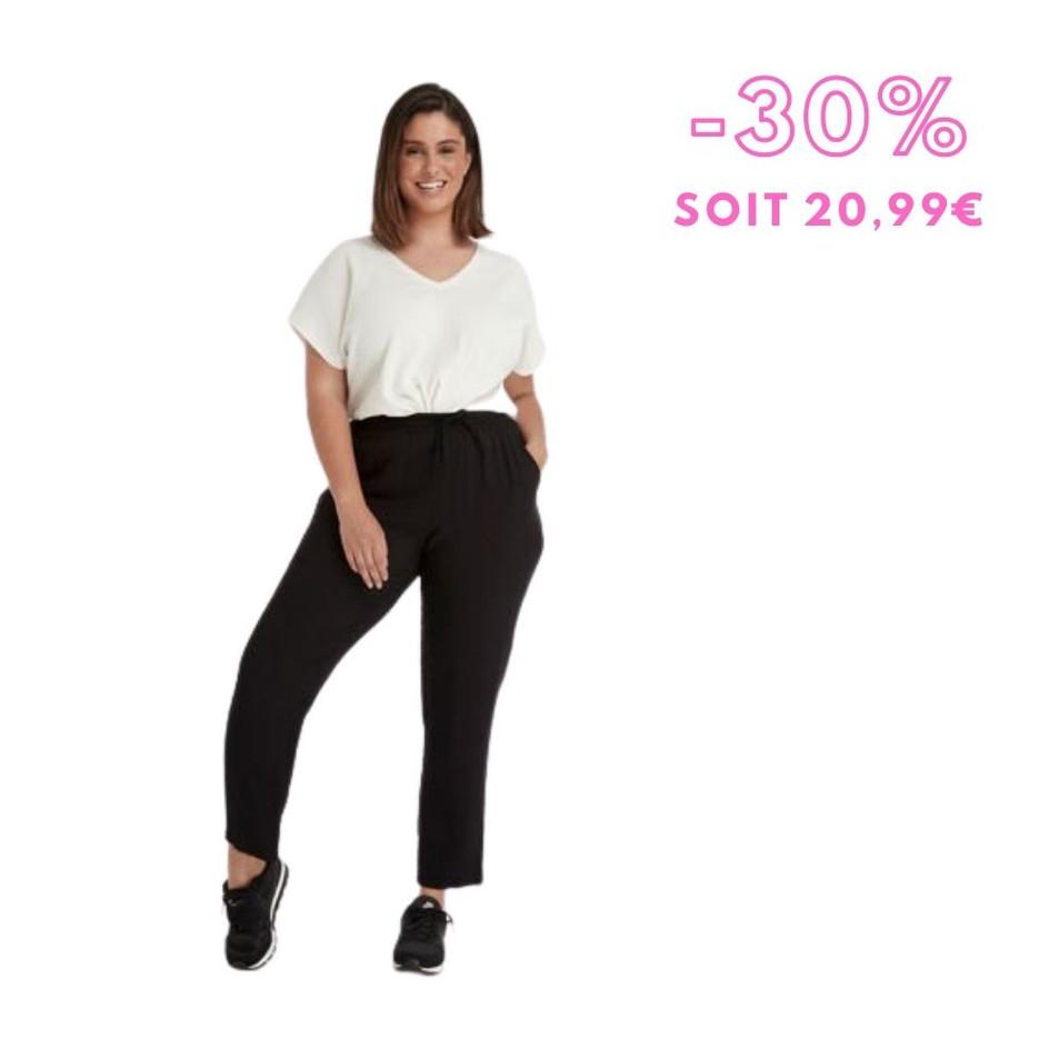 MS Mode - Pantalon coupe ample