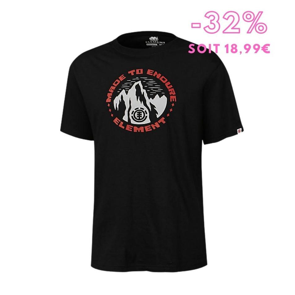 Element - T-shirt manches courtes homme