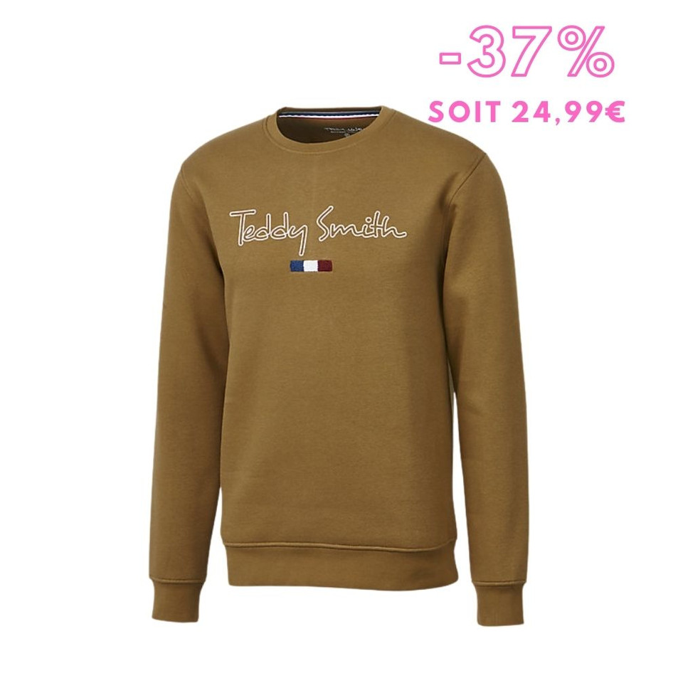 Teddy Smith - Sweat homme S-Seven Rc