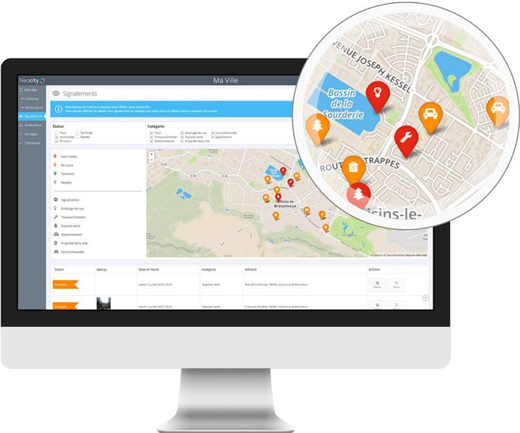 E-services en centre ville avec NeoCity