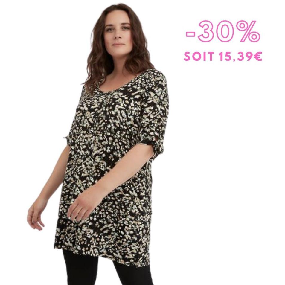 MS Mode - Long t-shirt avec un décor à nœud et un imprimé21,99 € 1
