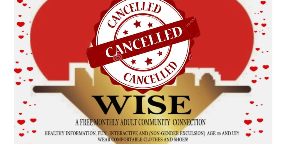 HEART WISE  (MARCH 14TH CANCELLED)