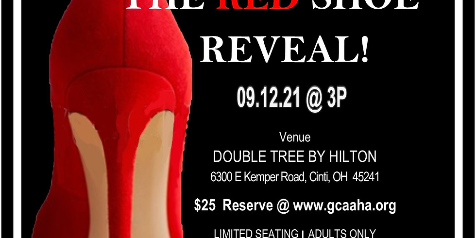 THE RED SHOE REVEAL