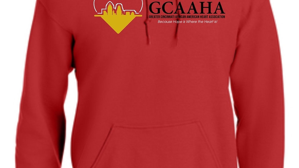 GCAAHA HOODIES  MED - XL