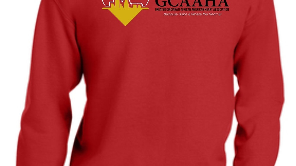 ADULT GCAAHA CREW NECK SWEAT SHIRT MED - XL