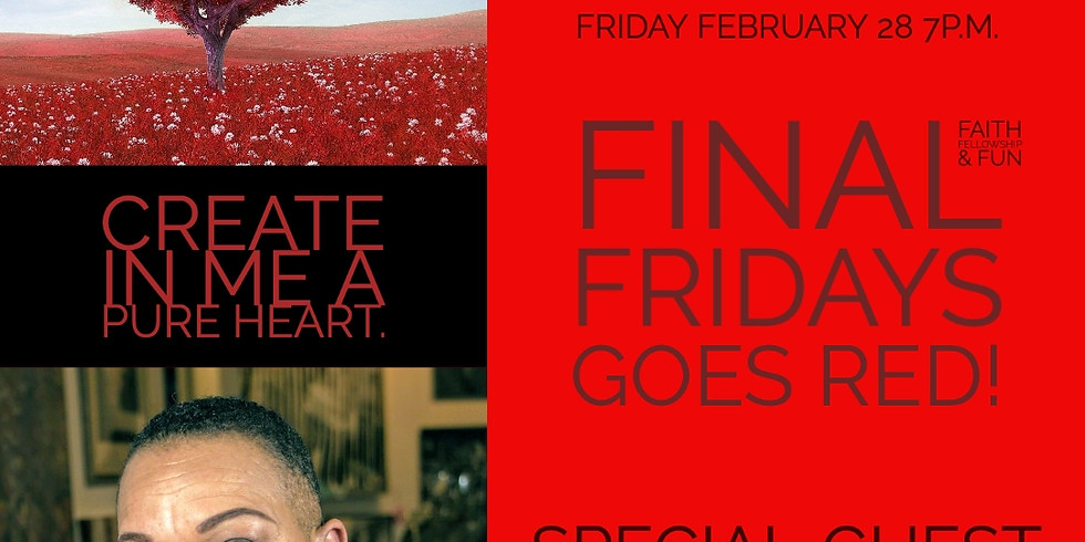 FINAL FRIDAY GOES RED AT LIGHT OF THE WORLD CHURCH