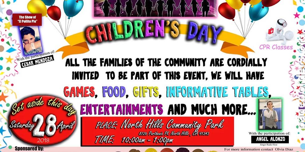 Children's Day Volunteering