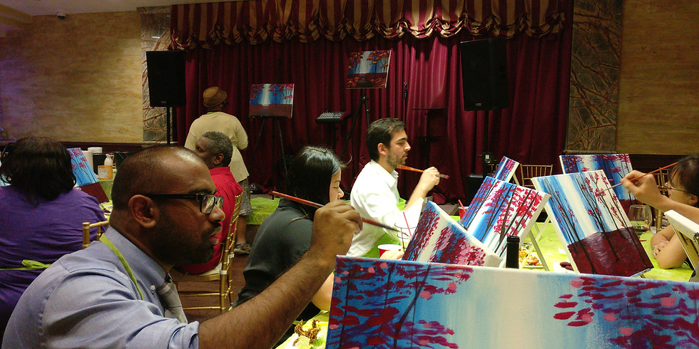August Happy Hour - Paint Your Own Comic