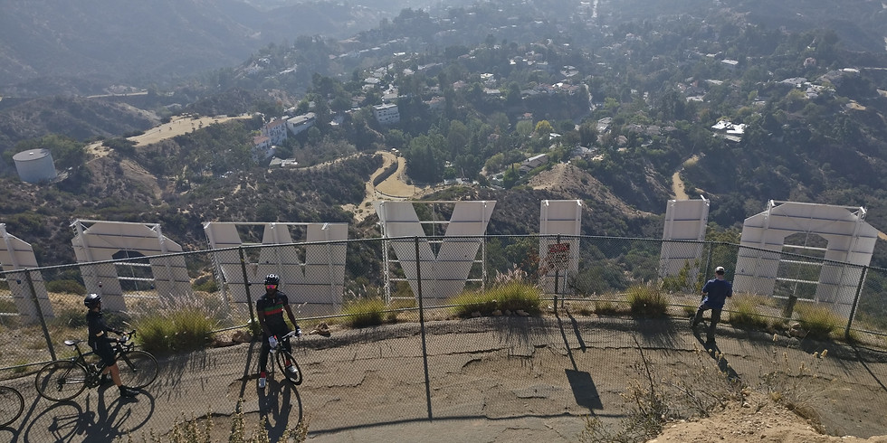 Hollywood Sign via The Canyon Dr Trail