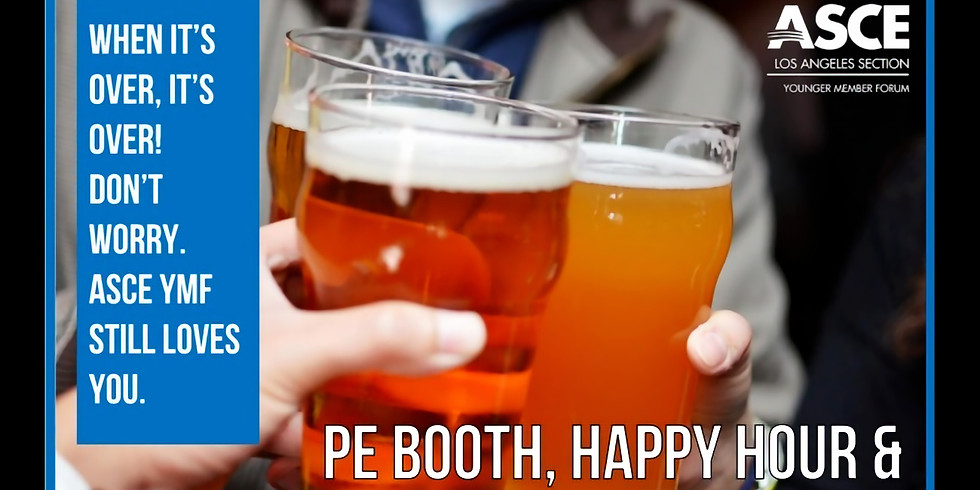 Post-PE Exam: Happy Hour and Social Event