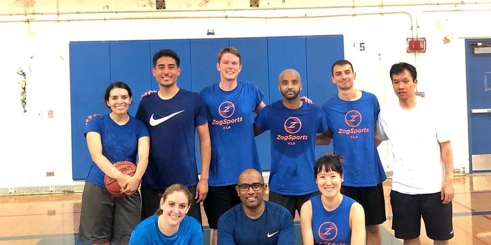 Basketball league end of season celebration!