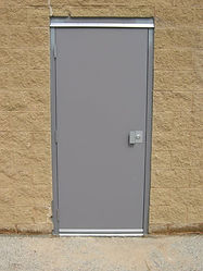 Commercial Single 3070 door and Frame Installation