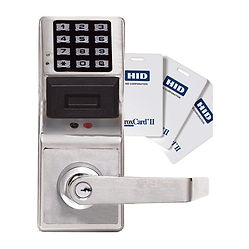 commercial keyless entry locks and access control systems