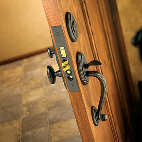 Residential Decorative Locks and Door Hardware Installed