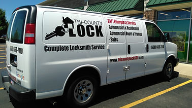 Tri County Lockmith Van