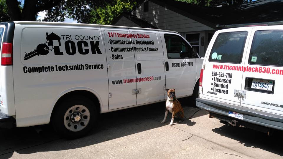 Tri County Locksmith Service Vans